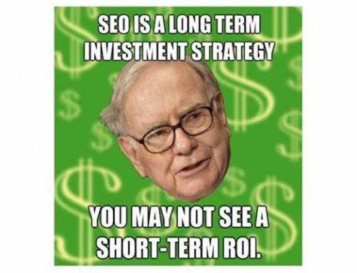 Calculating SEO ROI – What Would Warren Buffett Do?